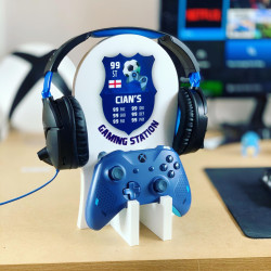 Personalised Gaming Station - Football Design