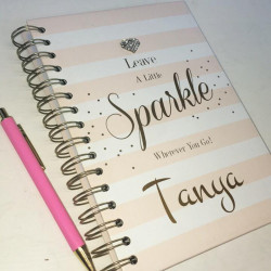 Image of Personalised Sparkle Notebook