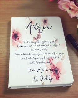 Image of Personalised Letters to my Daughter Notepad