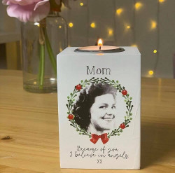 Image of personalised tealight holder