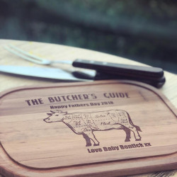 Image of Personalised Butchers Guide Brazilian BBQ Steak Set