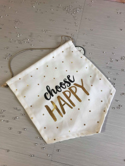 Image of choose happy banner