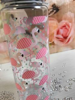 Image of flamingo water bottle