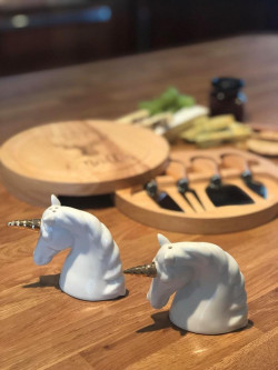 Image Of Unicorn Salt & Pepper Shakers