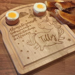 Image of personalised dippy eggs board