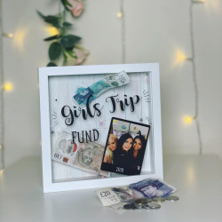 Personalised Polaroid Photo Fund Box