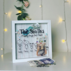 Personalised Family Character Fund Box