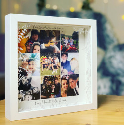 Image of  6 Photos Hearts Full Of Love Box Frame