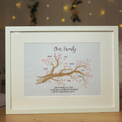 Family Tree Branch A3 Frame