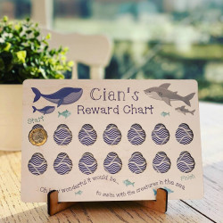 Personalised Colour Printed Reward Chart
