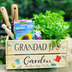 Image of grandads garden crate