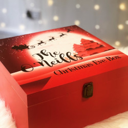 Personalised Moon and Sleigh Christmas Eve Box (pre order - November Delivery)