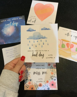 Personalised Mindful Envelopes and letters (set of 5)