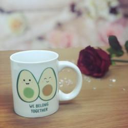 Image of We Belong Together Avocado Mug