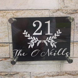 Personalised Branches House Plaque