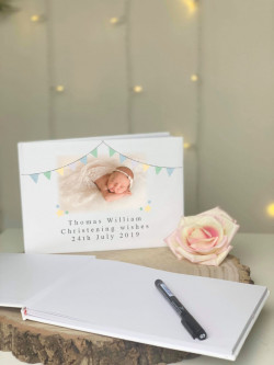 Personalised Bunting Guestbook