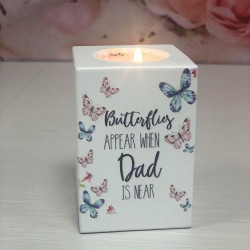 Image of remembrance tealight holder