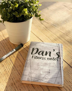 Personalised Fitness Notebook