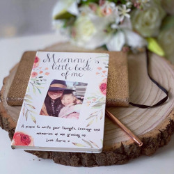 Personalised Little Book Of Me Floral Photo