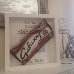 image of  In Case Of Emergency Frame Chocolate