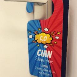 Image of Superhero Door Hanger