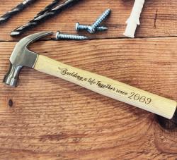 Personalised 16oz Claw Hammer (Italic Font)