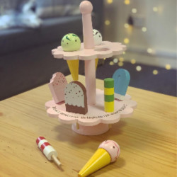 Personalised Ice Cream Stand Toy