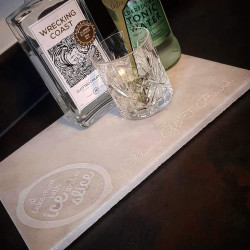 Personalised Marble Stone Gin Board
