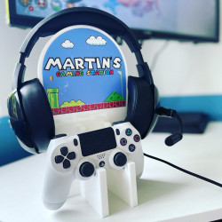 Personalised Gaming Station SINGLE & DOUBLE - Mario