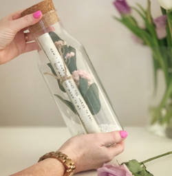Personalised Mothers Day Message In A Bottle