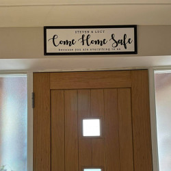 Personalised Wall Sign