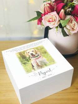 Personalised Pet Remembrance Box