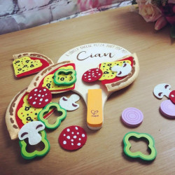 Homemade Personalised Pizza Toy Set