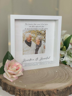 Personalised Remembrance Wedding Day Frame