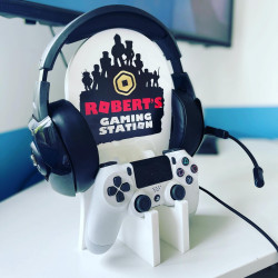 Personalised Gaming Station SINGLE AND DOUBLE- Blox