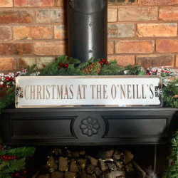 Personalised Mantelpiece Sign