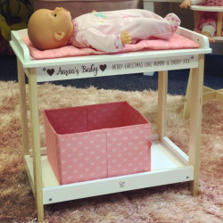 Personalised Baby Changing Table