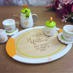 image of tea set toy