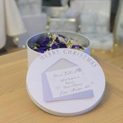 Personalised dear santa treat tin