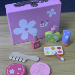 Personalised Beauty Vanity Case With Accessories Toy