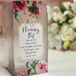 Image of personalised vase