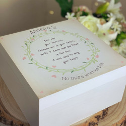 Personalised Worry Box
