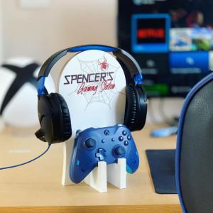 Personalised Gaming Station - Spider Hero Design.