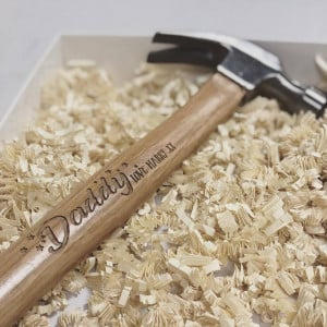 Personalised Claw Hammer (16oz) - Stars design - GUARANTEED FOR FATHER'S DAY DELIVERY