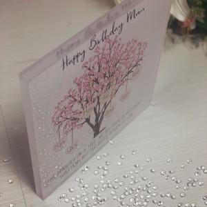 Personalised Acrylic Blossom Family Tree