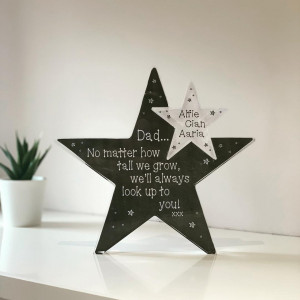 Personalised Acrylic Star Jigsaw Pieces