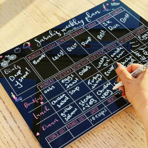 Personalised Weekly Fitness Planner