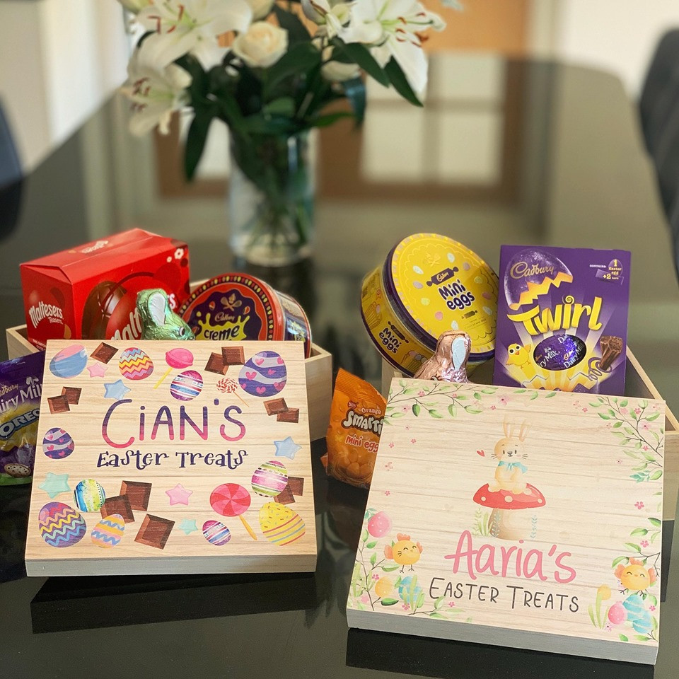 Image of Personalised Easter Box