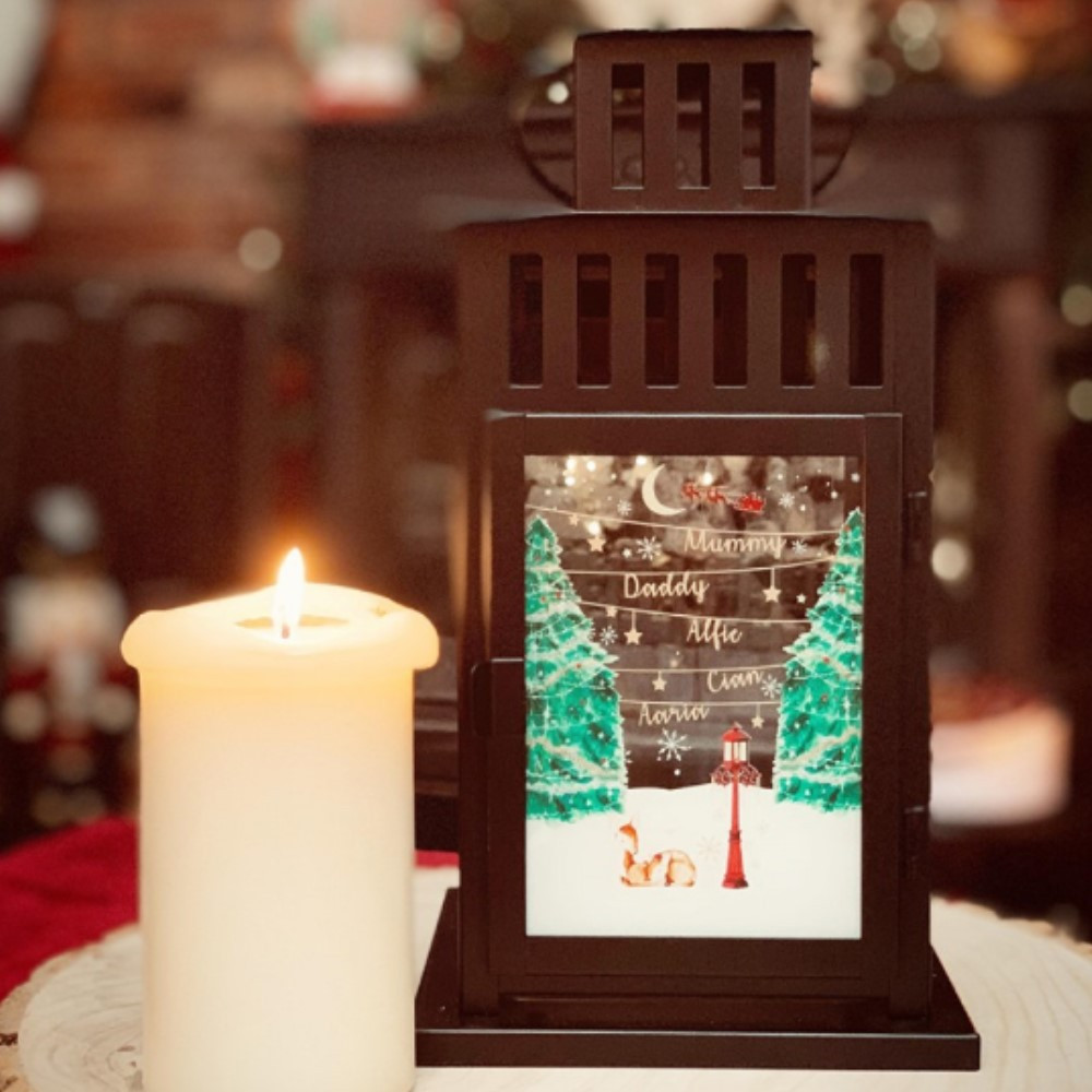 Personalised Christmas Lantern