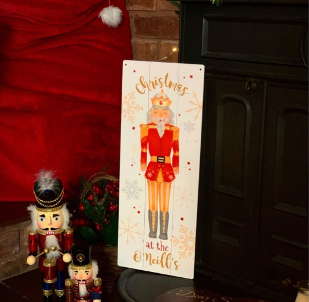 Personalised Nutcracker Sign
